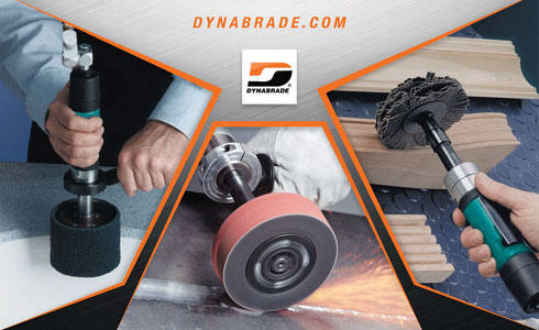 DYNABRADE Abrasive Finishing Tools