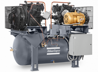 LS and LP Cast Iron Industrial Piston Compressors