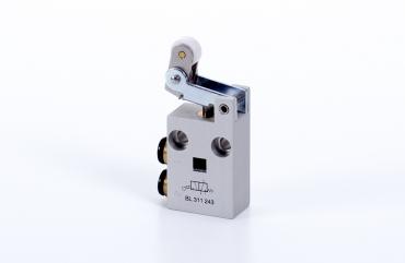 Hafner 3/2 way roller lever valve with idle return - BL-311-3