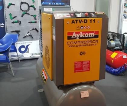 Aydin Trafo on AerTechnik's booth